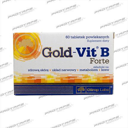 Биологически активная добавка OLIMP Labs Gold-Vit B Forte 60 таблеток / Olimp PL, фото 2