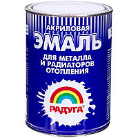 """ЭМАЛЬ """"Радуга-178 для радиат. отопления и металла"""" п/мат 0,5кг /5/"""