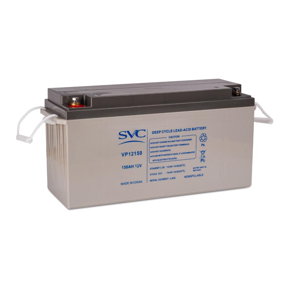 Батарея SVC, AGM свинцово-кислотная VP12150 12В 150 Арт.6856