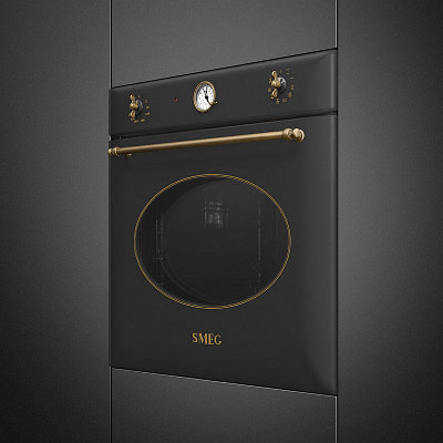 Духовой шкаф Smeg SF855AO черный