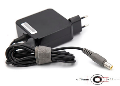 Блок питания для ноутбуков PowerPlant IBM/LENOVO 220V, 20V 65W 3.25A (7.9*5.5) IB65H7955
