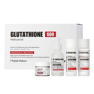 Набор против пигментации с глутатионом Medi-Peel Bio Intense Glutathione White Cream