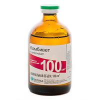 Комбивет 100 мл (эритромицин, сульфадиметоксина, бензокаин, дексаметазон)
