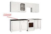 Шкаф-стол 500, 1Д как часть комплекта Классика, Сосна белая, СВ Мебель (Россия)