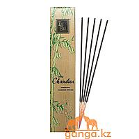Благовония Сандал (Chandan ZED BLACK), 16 грамм