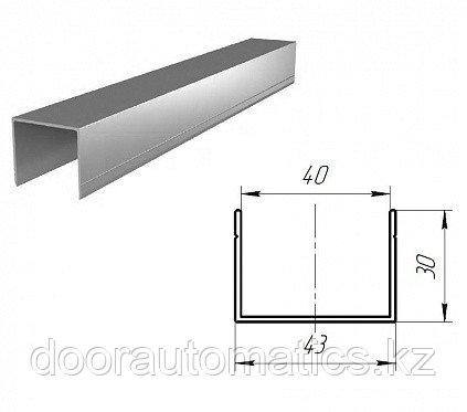 Алюминиевый п-образный профиль для калитки