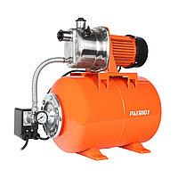 Насосная станция PATRIOT PW 850-24 INOX, насосная часть - нерж. сталь, бак 22 л, 850 Вт, 3000 л/час.