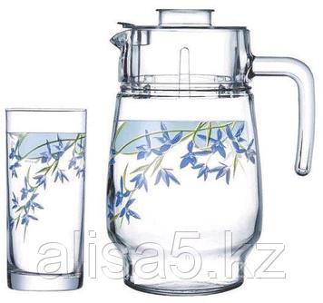 ARCOPAL ALIYA BLUE набор для напитков 7 предм., шт