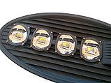 Консольный уличный светодиодный светильник 200 w СКУ Кобра. Уличный фонарь на кронштейн. LED светильник Кобра, фото 6