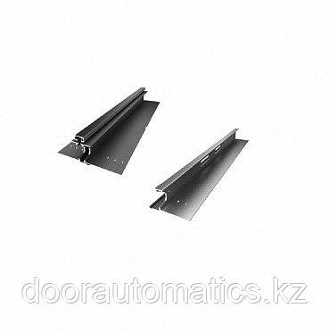 Комплект средней части калитки с замком для панели с ЗЗП 562мм