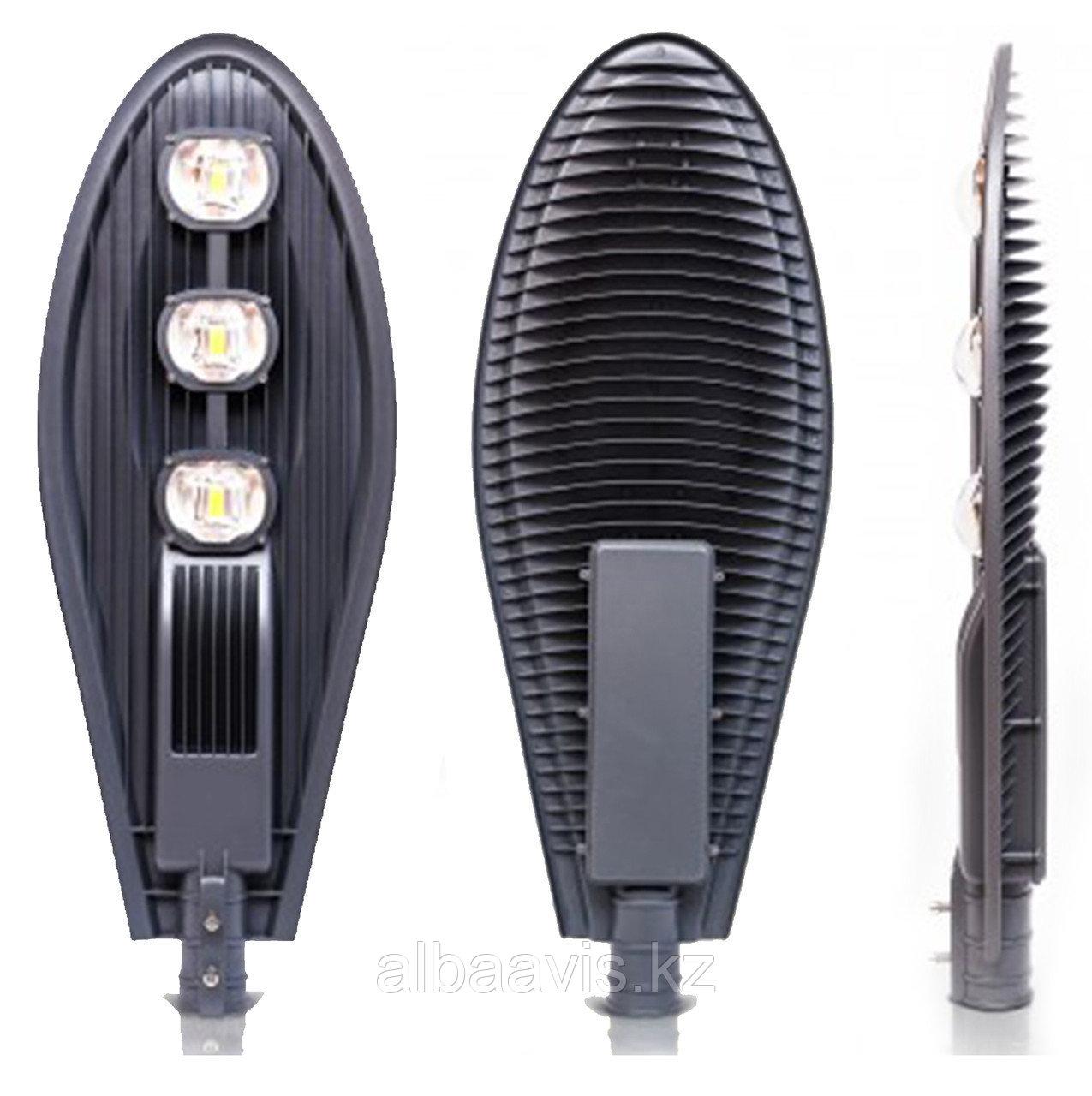 Консольный уличный светодиодный светильник 150 w СКУ Кобра. Уличный фонарь на кронштейн. LED светильник Кобра
