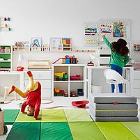 LOBERGET ЛОБЕРГЕТ / SIBBEN СИББЕН Детский стул д/письменного стола, белый, фото 3