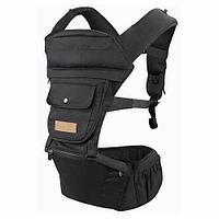 Рюкзак-переноска Happy Baby BABYSEAT 40029 Black