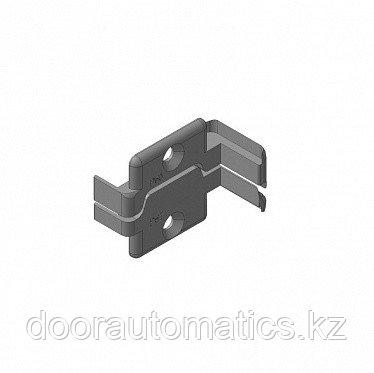 Заглушки алюминиевых Ц-профилей для проема калитки (правая сторона)