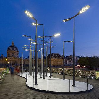 Уличные консольные светодиодные светильники на опору.