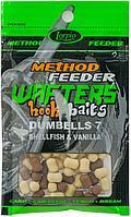 Бойлы Lorpio HOOK BAITS WAFTERS DUMBELLS (DD-008-014=HALIBUT & Pineapple (Палтус/Ананас) 8*10mm)