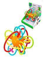Hola: Развивающая игрушка для малышей Сфера/ игрушка погремушка