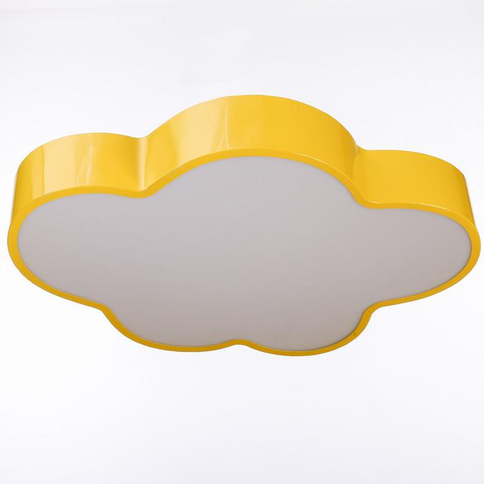 """Люстра """"Облачко"""" LED 3 режима 68Вт желтый 47,5х52х8 см"""