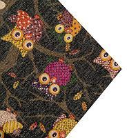 Ткань хлопок «Совы», ширина 155 см