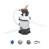 Фильтрующий песчаный насос Flowclear для бассейнов, BESTWAY, 58515
