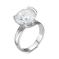 Серебряное кольцо с фианитом Красная пресня 23810114Д