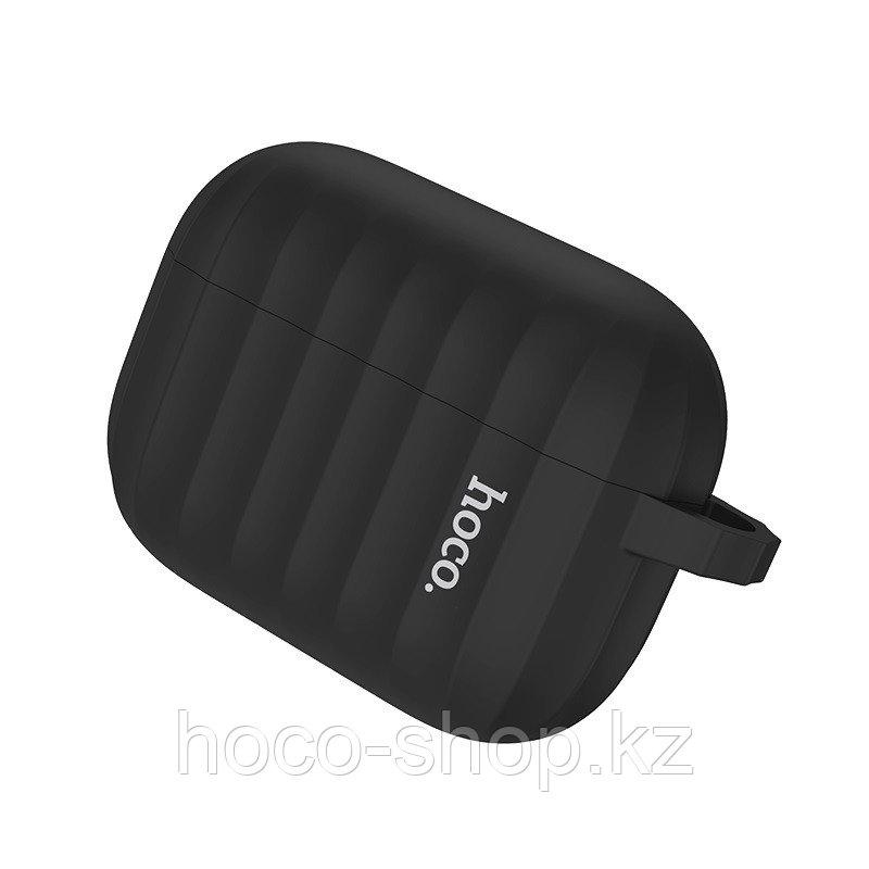 Чехол для наушников Hoco WB20 Fenix для AirPods Pro черный - фото 2