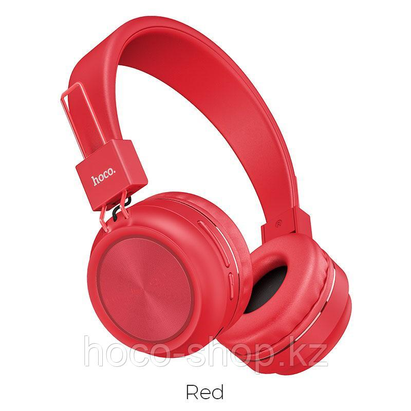 Наушники Hoco W25 красный