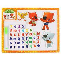 Игрушка деревянная БУРАТИНО Магнитная доска для рисования «Ми-Ми-Мишки»