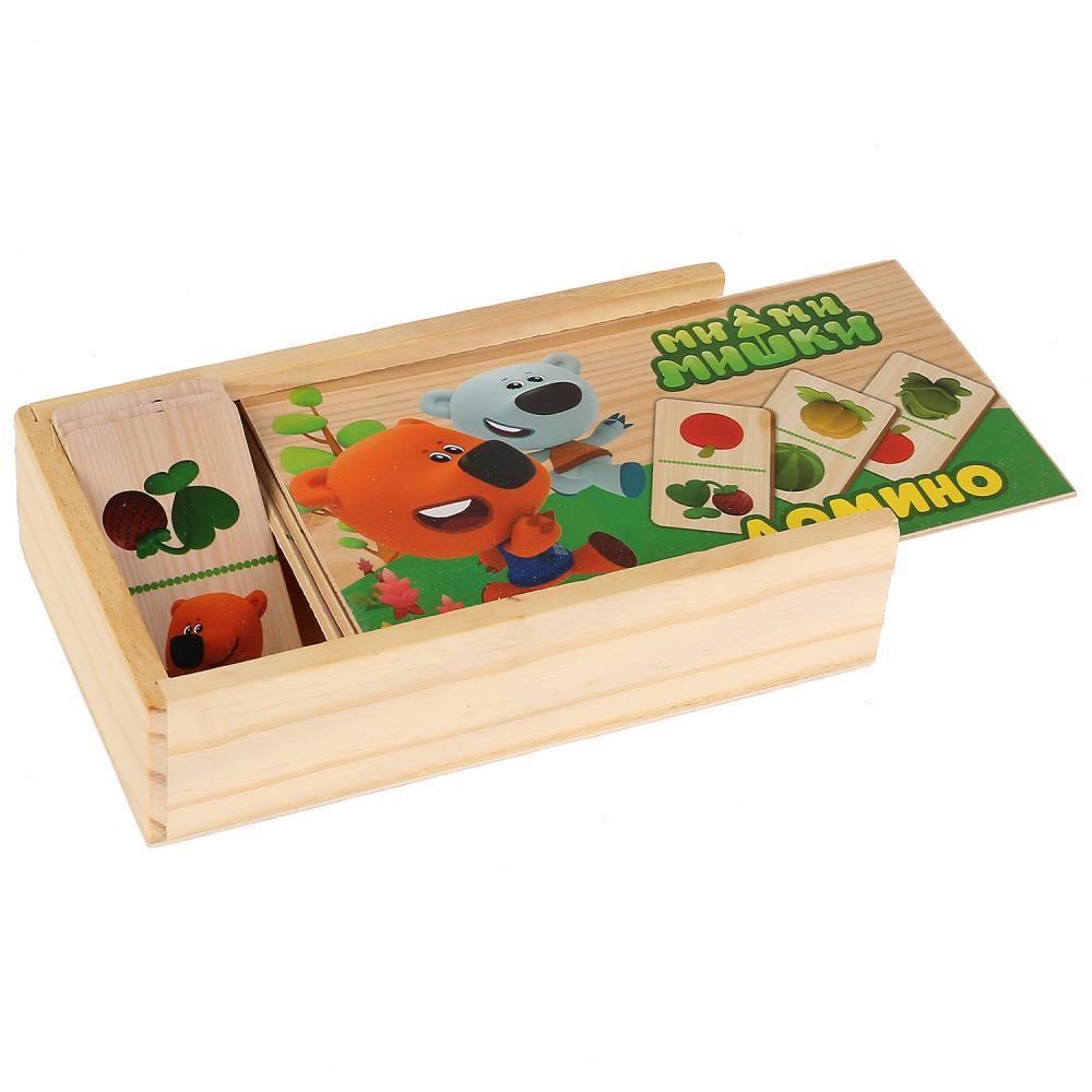 Игрушка деревянная БУРАТИНО Домино «Ми-Ми-Мишки»
