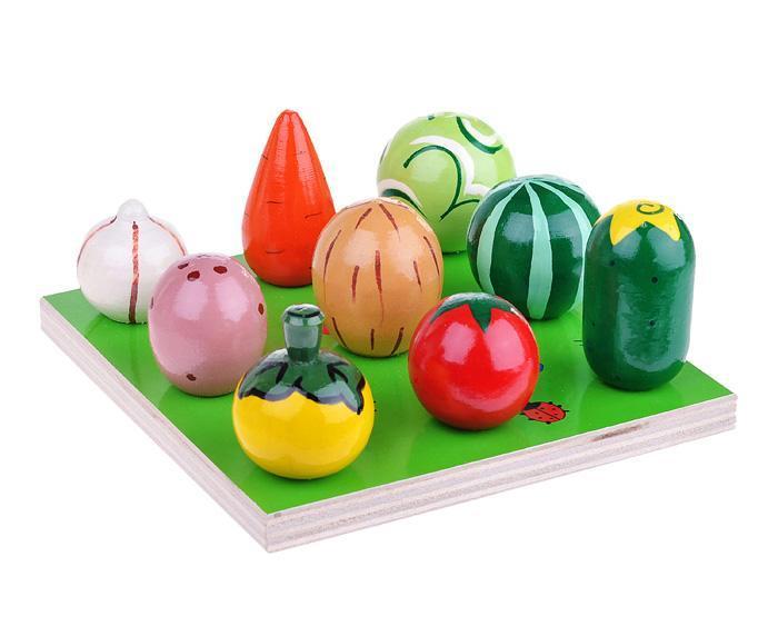 Счетный материал «Веселая грядка. Овощи и Фрукты»