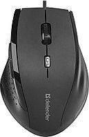 Мышь проводная Defender Accura MM-362 черный
