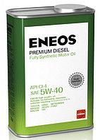Моторное масло ENEOS Premium Diesel 5W-40 1литр