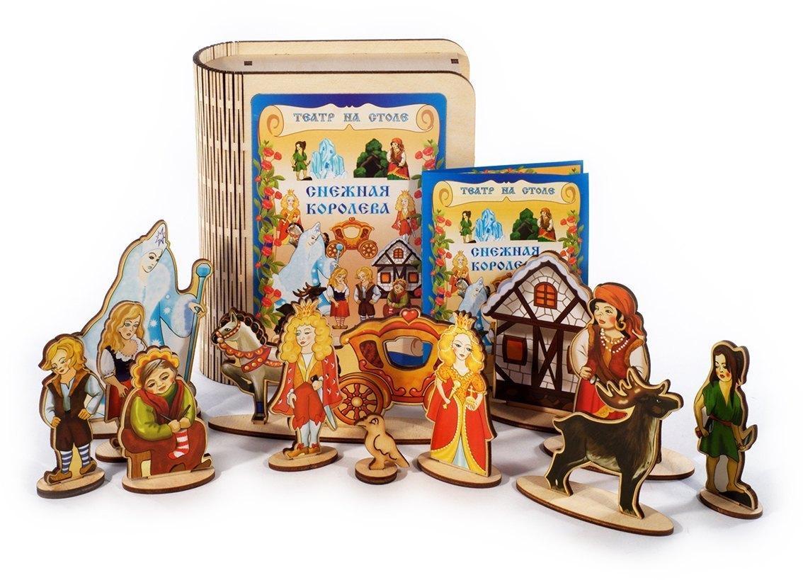 Деревянная игрушка «Театр на столе» Снежная королева