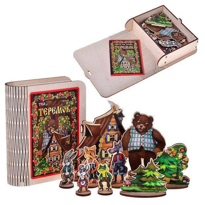 Деревянная игрушка «Театр на столе» Теремок