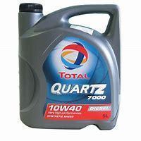 Моторное масло TOTAL QUARTZ 7000 DIESEL 10W-40 5литров