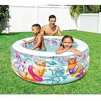 Детский надувной бассейн Intex 58480np