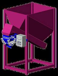Дозатор весовой с бункером и ленточным питателем ДВГ-50 (Б, ЛП)