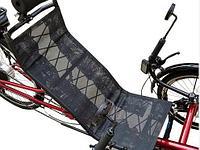 Лежачий трехколесный велосипед M-009E (с электроприводом)