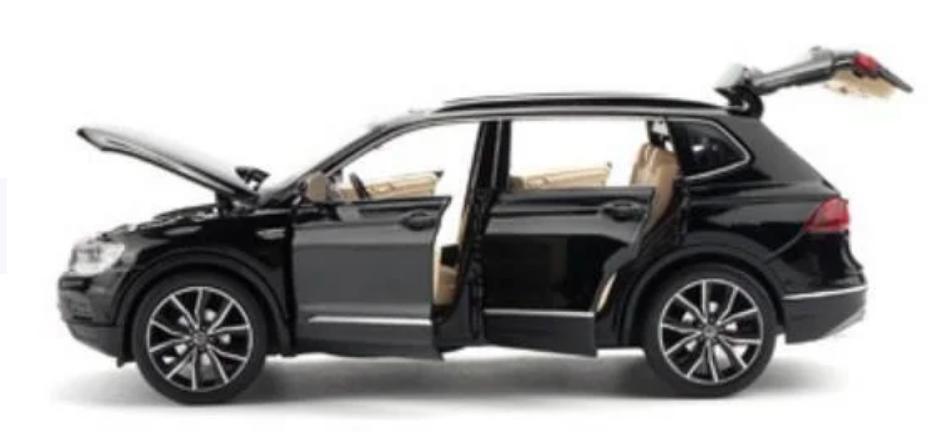 Коллекционная машинка Volkswagen Tiguan L металлическая модель в масштабе 1:32 - фото 4