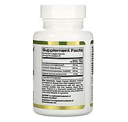 California Gold Nutrition, глюкозамин, хондроитин и МСМ с гиалуроновой кислотой, 60 растительных капсул, фото 2