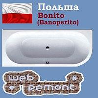 Акриловая ванна Banoperito Vella 170x72.5 L (Ванна + ножки). Польша