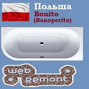 Акриловая ванна Banoperito Vella 170x72.5 R (Ванна + ножки). Польша, фото 2