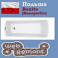 Акриловая ванна Banoperito Verbena 170x75 (Ванна + ножки). Польша