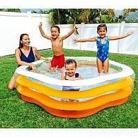 Детский надувной бассейн Intex 56495 «Морская звезда»