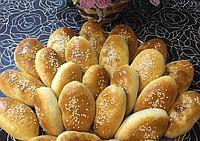 Пирожки печеные с капустой