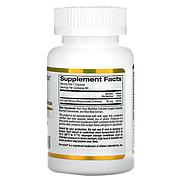 California Gold Nutrition, Феррохелевое железо (бисглицинат), 36 мг, 90 растительных капсул, фото 2