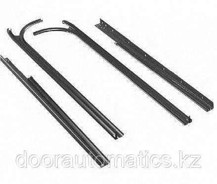 Комплект направляющих и угловых стоек для низкого подъема RAL7040