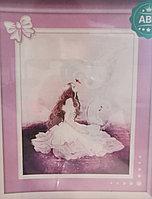 Алмазная вышивка «Принцесса и лебедь», Love you wei