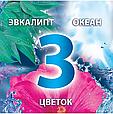 Подвесной туалетный блок Bref Color Aktiv Цветочная свежесть, 3х50г, фото 4