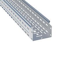 Лоток перфорированный металлический 100х200х3000-0,8мм (12 м) EKF